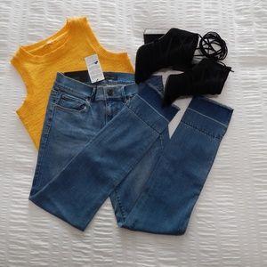Skinny Medium wash Ann Taylor jeans